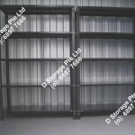 Storage unit w racks webpage